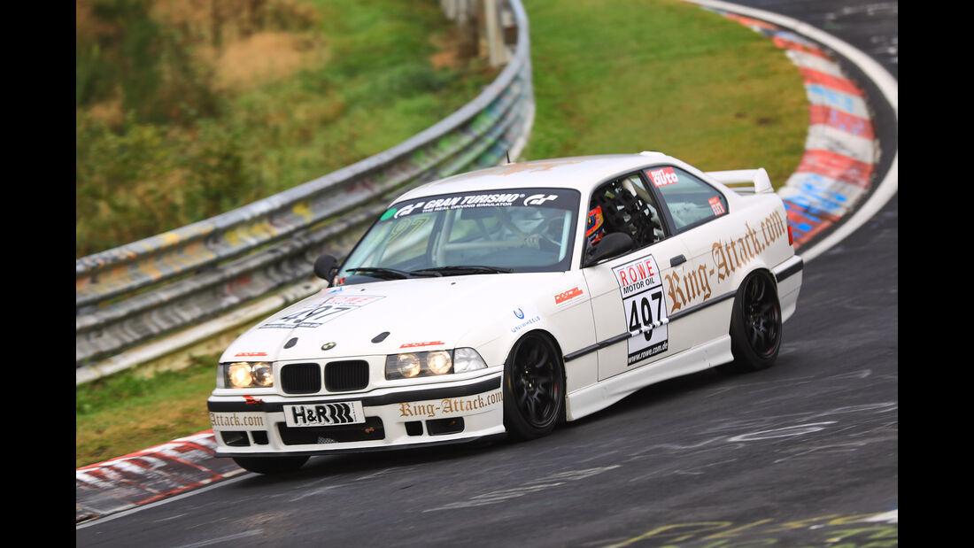 VLN - Nürburgring Nordschleife - Startnummer #497 - BMW E36 325 - V4