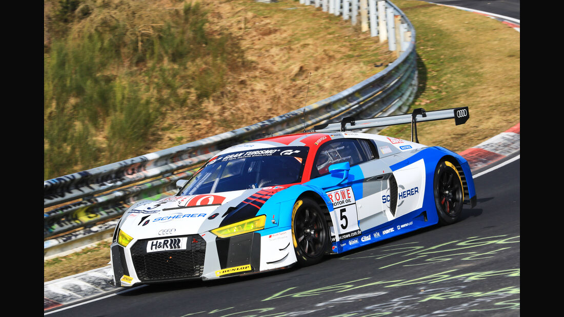 VLN - Nürburgring Nordschleife - Startnummer #5 - Audi R8 LMS - Audi Sport Team Phoenix - SP9 PRO