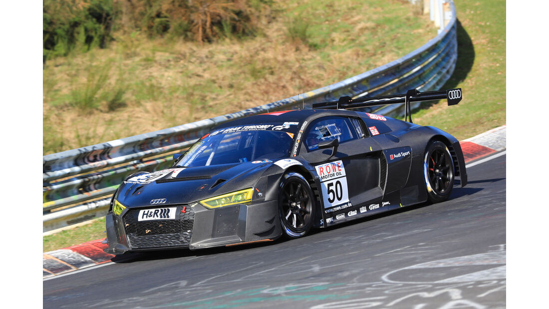 VLN - Nürburgring Nordschleife - Startnummer #50 - Audi R8 LMS - Audi Sport Team WRT - SP9