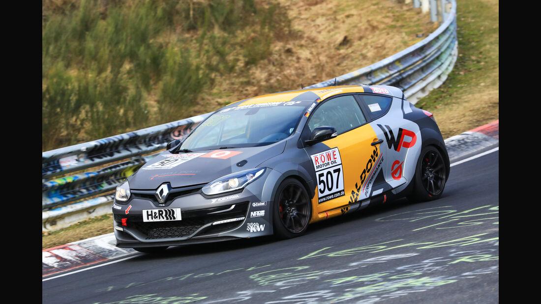 VLN - Nürburgring Nordschleife - Startnummer #507 - Renault Mégane RS - VT2
