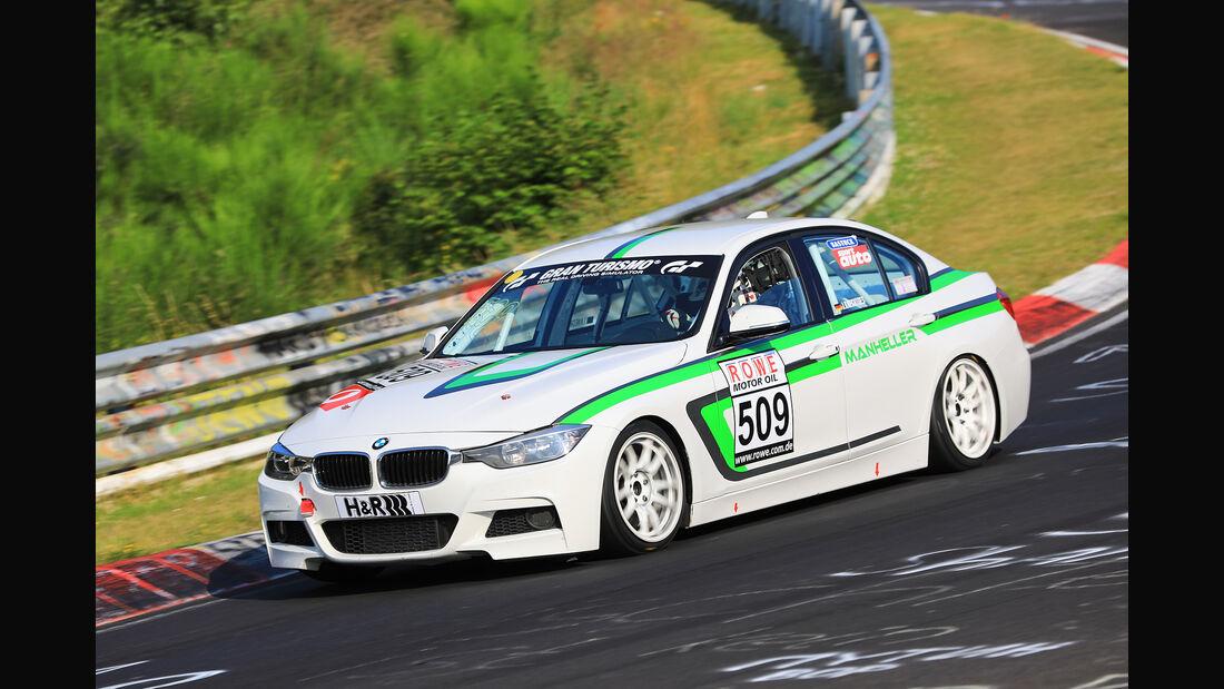VLN - Nürburgring Nordschleife - Startnummer #509 - BMW F30 - Manheller Racing - VT2