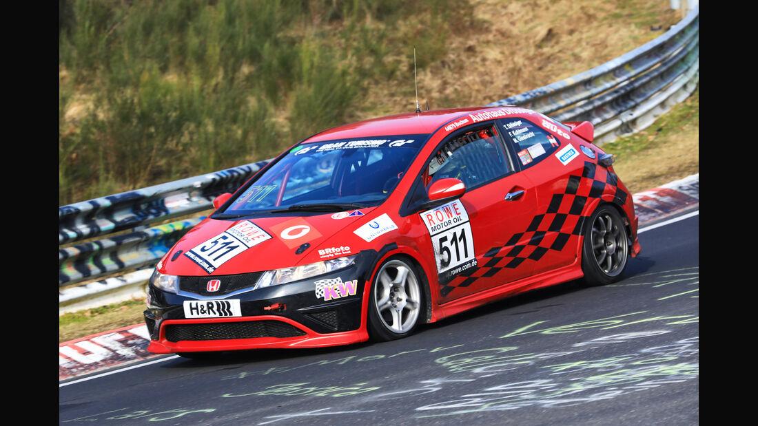 VLN - Nürburgring Nordschleife - Startnummer #511 - Honda Civic Type R CWE - V3