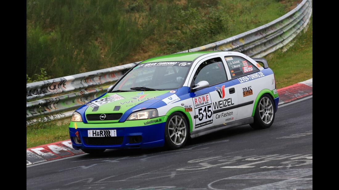 VLN - Nürburgring Nordschleife - Startnummer #515 - Opel Astra G OPC - V3