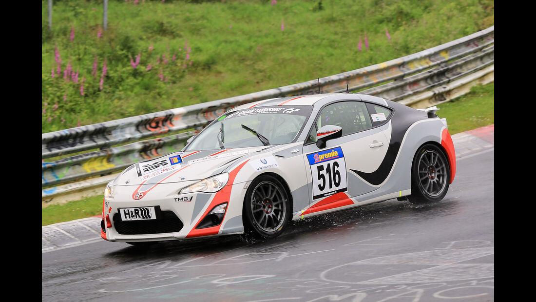 VLN - Nürburgring Nordschleife - Startnummer #516 - Toyota GT 86 - V3