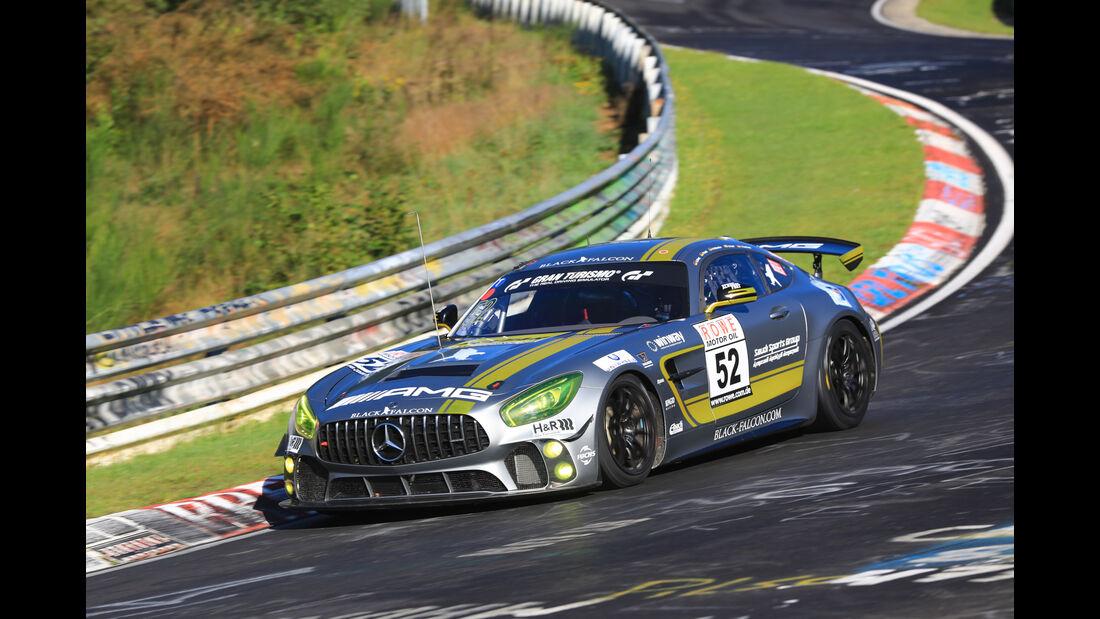 VLN - Nürburgring Nordschleife - Startnummer #52 - Mercedes-AMG GT4 - Mercedes-AMG Testteam Black Falcon - SPX