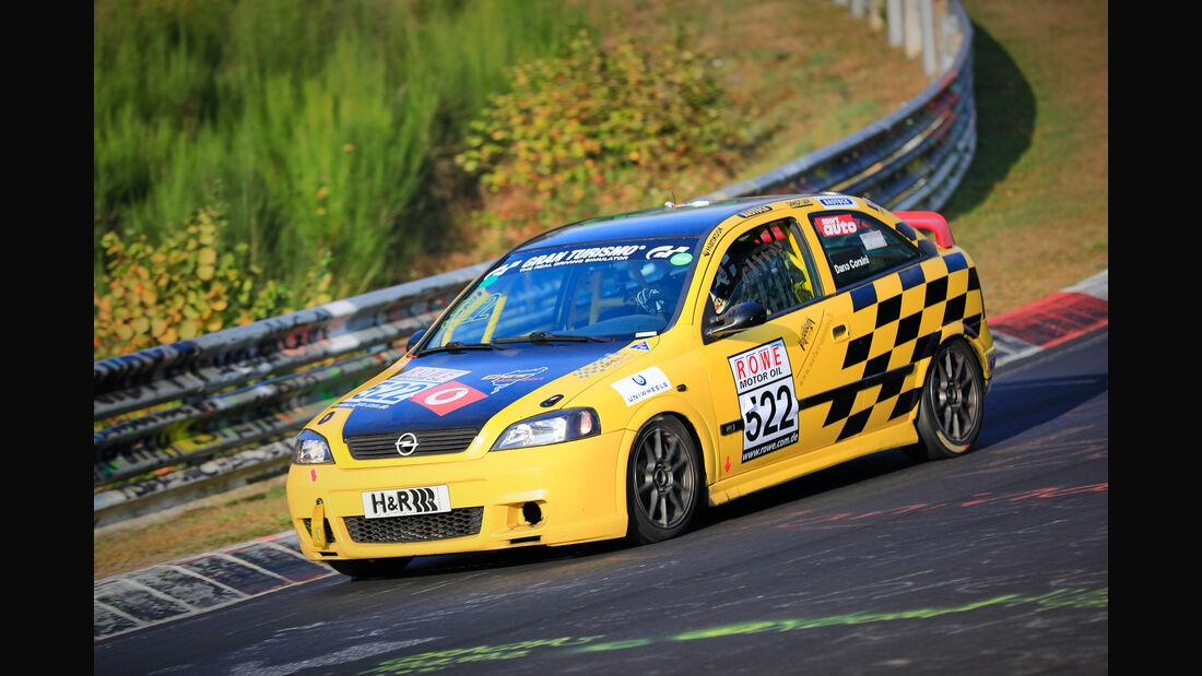 VLN - Nürburgring Nordschleife - Startnummer #522 - Opel Astra G OPC - V3