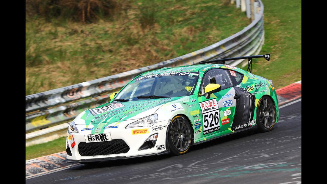 VLN - Nürburgring Nordschleife - Startnummer #526 - Toyota GT86 - Pixum Team Adrenalin Motorsport - Cup4