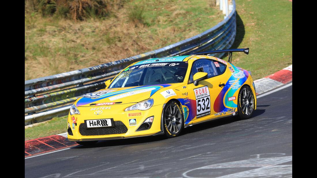 VLN - Nürburgring Nordschleife - Startnummer #532 - Toyota GT86 - CUP4