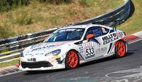 VLN - Nürburgring Nordschleife - Startnummer #533 - Toyota GT86 - CUP4