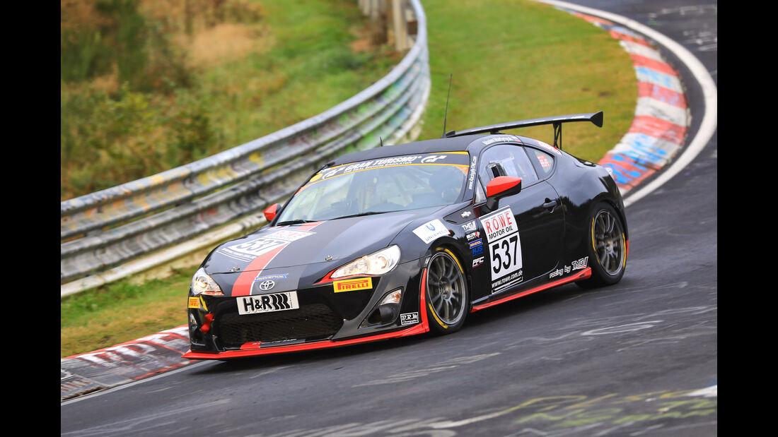 VLN - Nürburgring Nordschleife - Startnummer #537 - Toyota GT86 - CUP4