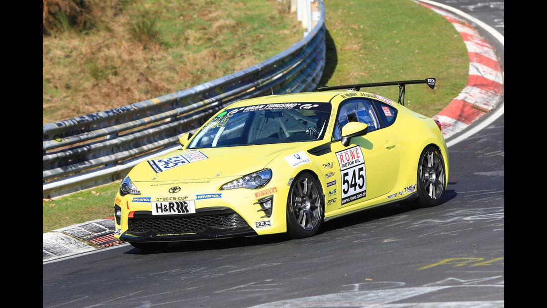 VLN - Nürburgring Nordschleife - Startnummer #545 - Toyota GT86 - CUP4