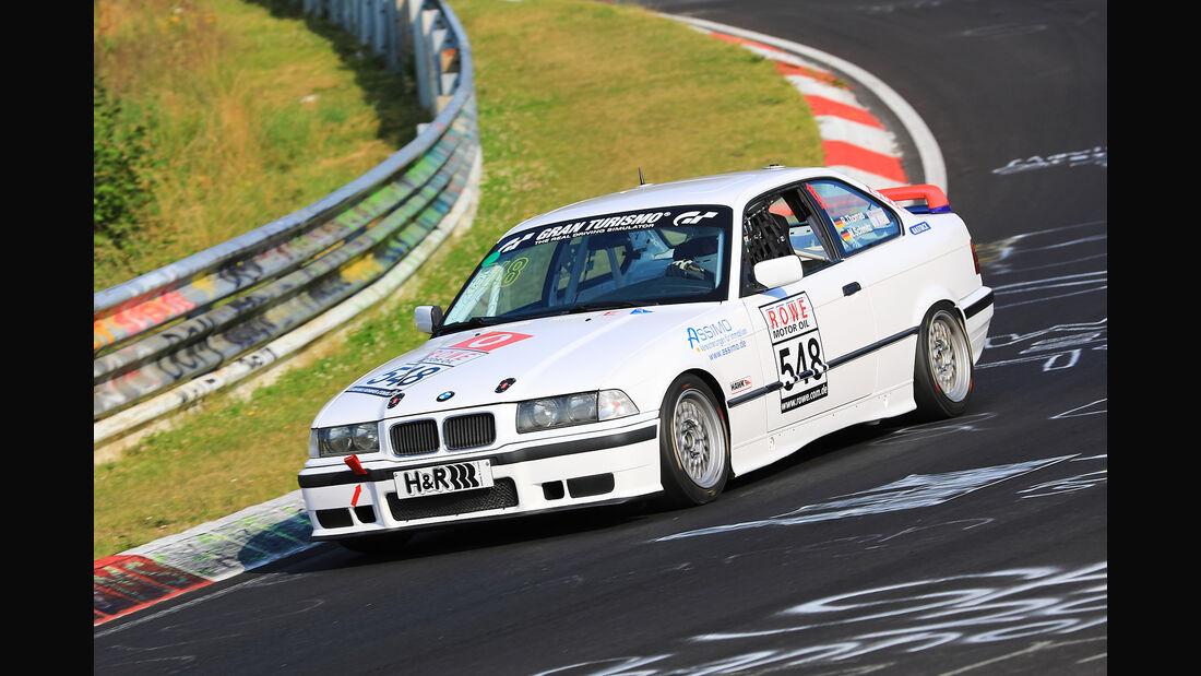 VLN - Nürburgring Nordschleife - Startnummer #548 - BMW 318iS E36 - V2