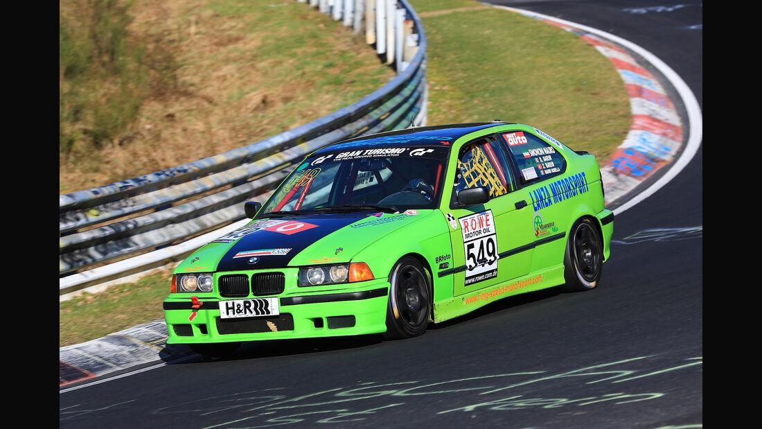 VLN - Nürburgring Nordschleife - Startnummer #549 - BMW 318 ti compact - SIMONCINI MAURO - V2