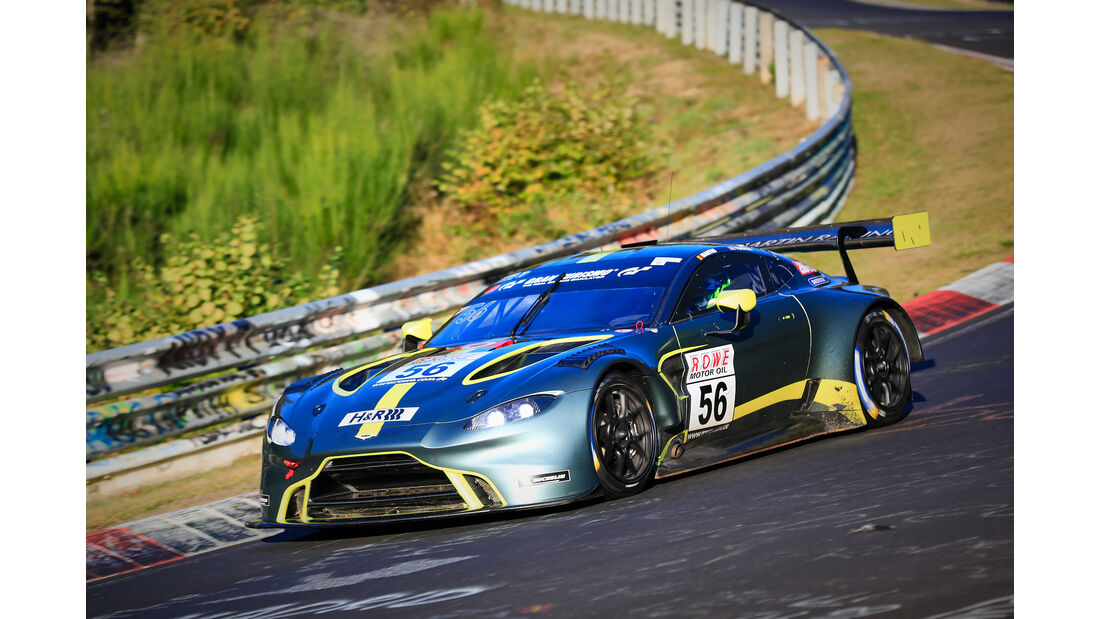 VLN - Nürburgring Nordschleife - Startnummer #56 - Aston Martin AMR Vantage - Aston Martin Racing - SPX