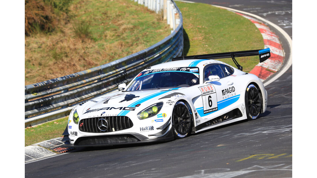 VLN - Nürburgring Nordschleife - Startnummer #6 - Mercedes AMG GT3 - Team Black Falcon - SP9