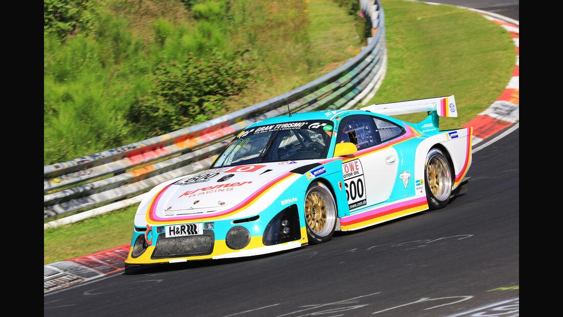 VLN - Nürburgring Nordschleife - Startnummer #600 - Porsche 997 K3 - Kremer Racing - H4