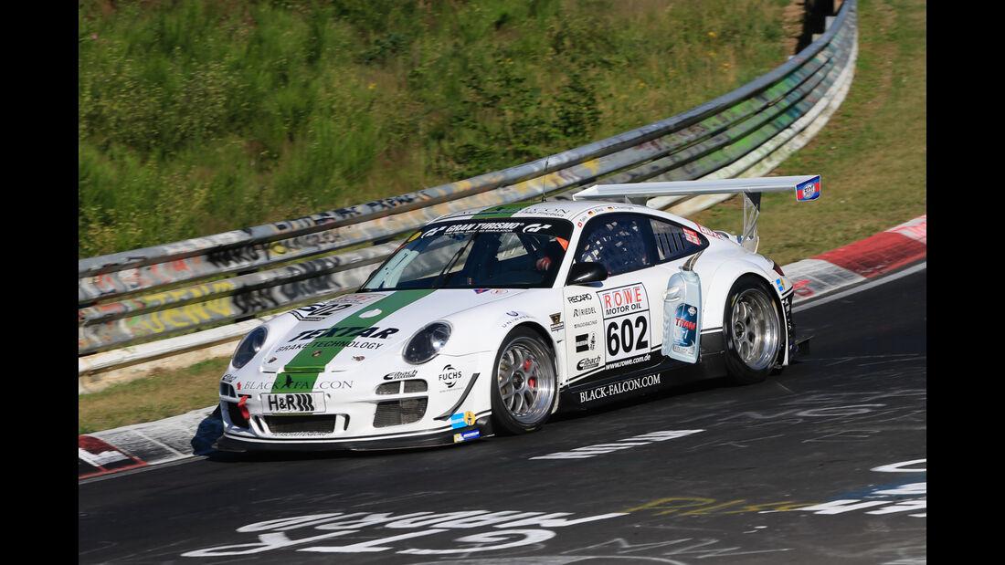 VLN - Nürburgring Nordschleife - Startnummer #602 - Porsche 911 GT3 Cup - Black Falcon Team TMD Friction - H4