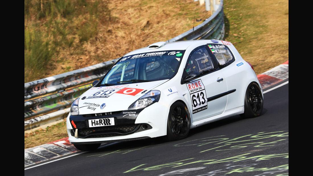 VLN - Nürburgring Nordschleife - Startnummer #613 - Renault Clio III RS Cup - H2