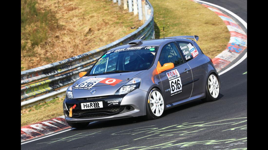 VLN - Nürburgring Nordschleife - Startnummer #616 - Renault Clio RS Cup - H2