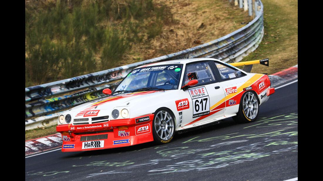 VLN - Nürburgring Nordschleife - Startnummer #617 - Opel Manta - Automobilclub von Deutschland - H2