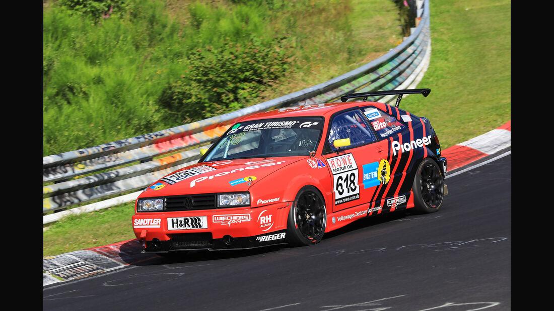 VLN - Nürburgring Nordschleife - Startnummer #618 - VW Pioneer Corrado - H2