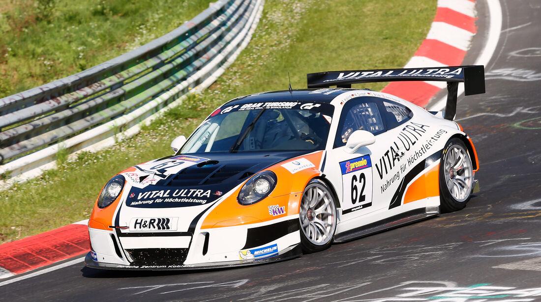 VLN - Nürburgring Nordschleife - Startnummer #62 - Porsche 991 GT3 MR - SP7