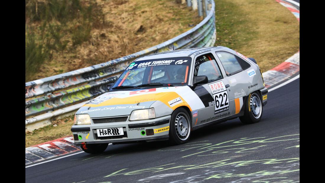VLN - Nürburgring Nordschleife - Startnummer #622 - Opel Kadett GSI - MSC Adenau e. V. im ADAC - H2
