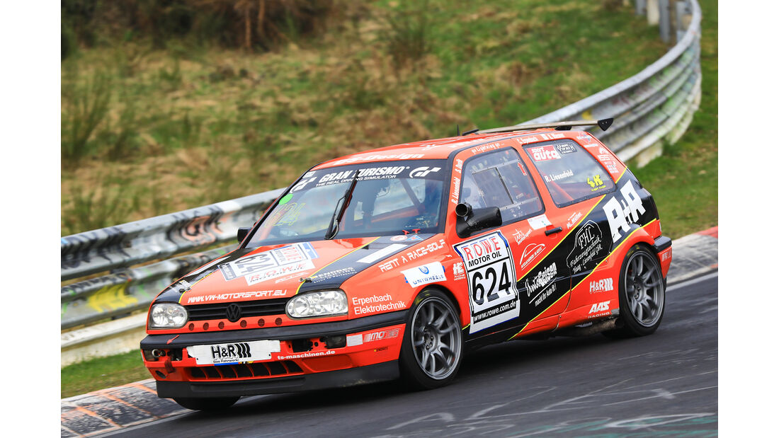 VLN - Nürburgring Nordschleife - Startnummer #624 - VW Pioneer Fast Racing Corrado - H2