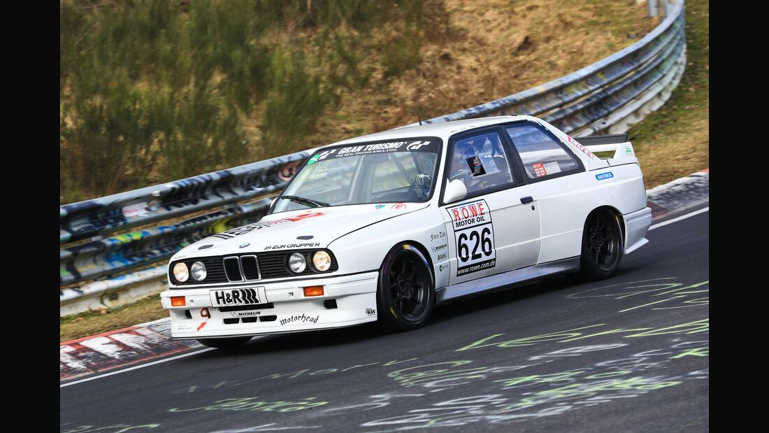 VLN - Nürburgring Nordschleife - Startnummer #626 - BMW E30 - H2