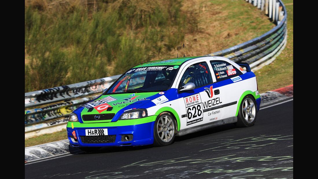 VLN - Nürburgring Nordschleife - Startnummer #628 - Opel Astra G OPC - H2