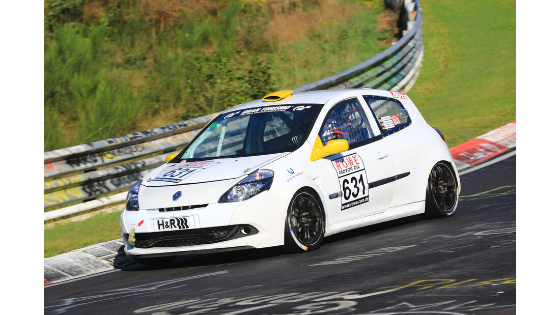 VLN - Nürburgring Nordschleife - Startnummer #631 - Renault Clio RS - H2