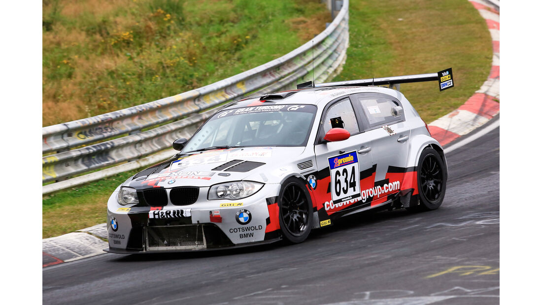 VLN - Nürburgring Nordschleife - Startnummer #634 - BMW 120 D GTR - SPAT