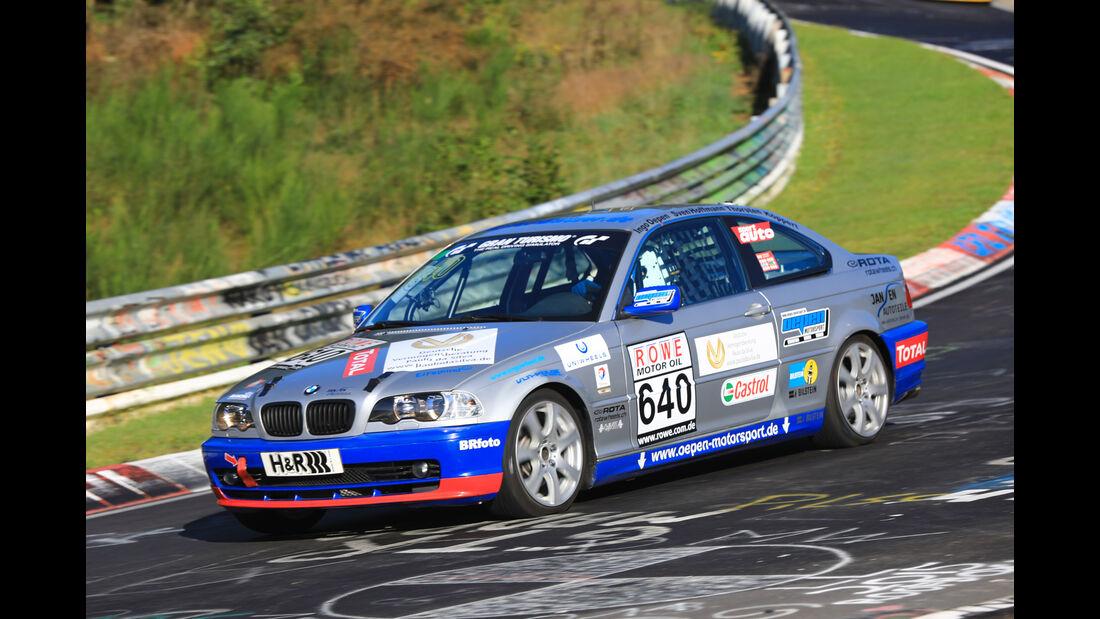 VLN - Nürburgring Nordschleife - Startnummer #640 - BMW E46 325CI - V4