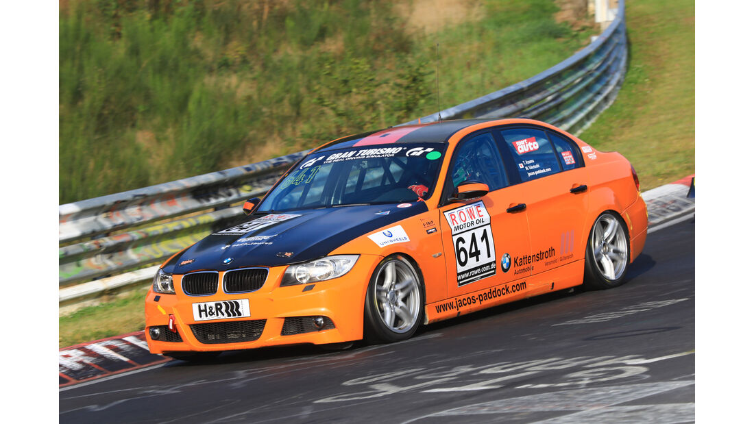 VLN - Nürburgring Nordschleife - Startnummer #641 - BMW 390l - V4