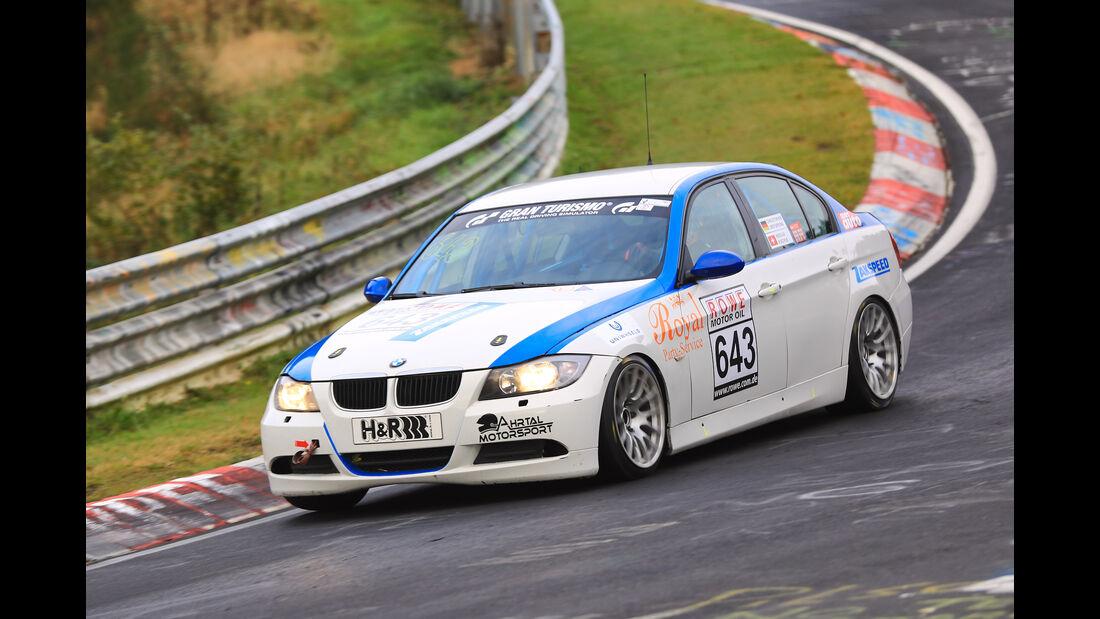 VLN - Nürburgring Nordschleife - Startnummer #643 - BMW 325 E90 - V4