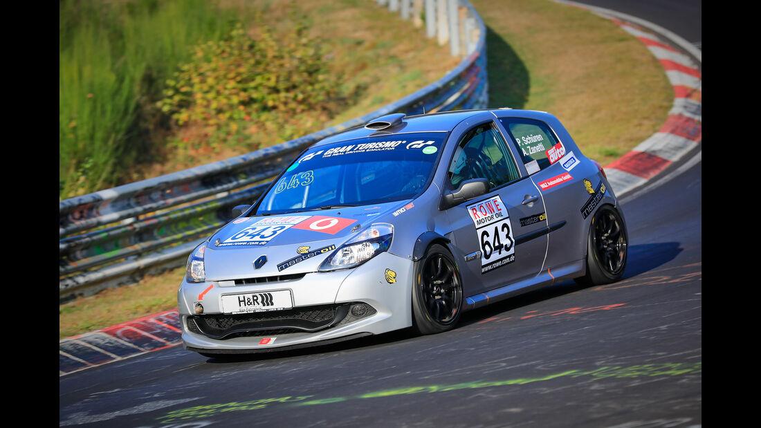 VLN - Nürburgring Nordschleife - Startnummer #643 - Renault Clio RS Cup - H2