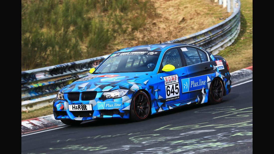 VLN - Nürburgring Nordschleife - Startnummer #645 - BMW 325i - rent2drive-FAMILIA-racing - V4