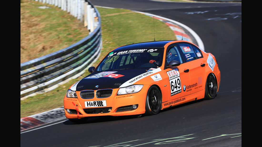 VLN - Nürburgring Nordschleife - Startnummer #649 - BMW 390L - V4