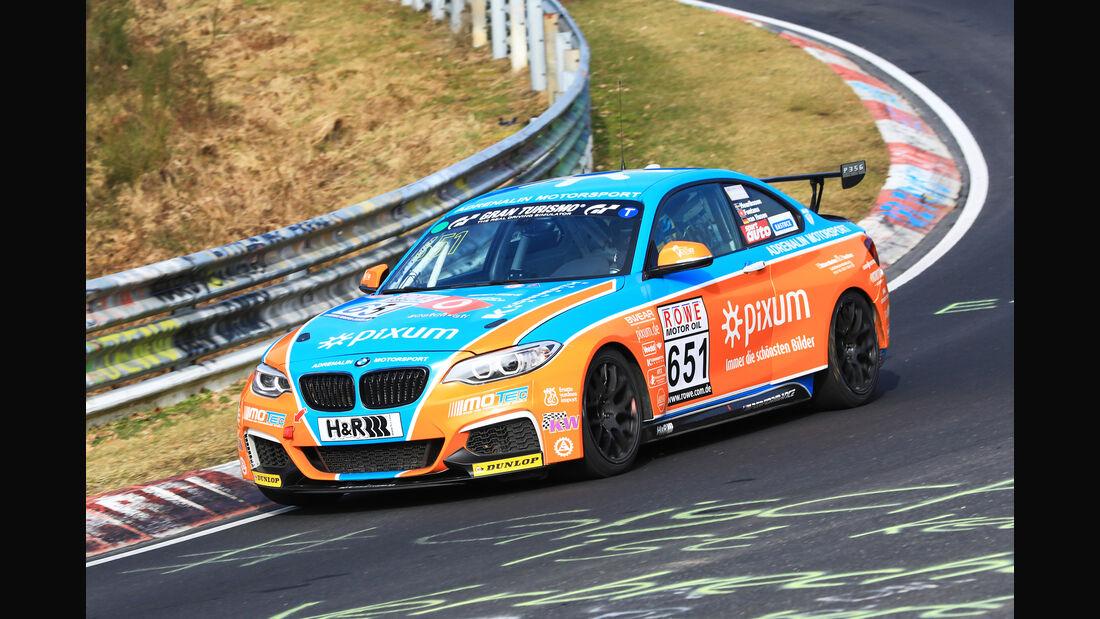VLN - Nürburgring Nordschleife - Startnummer #651 - BMW M235i Racing Cup - Pixum Team Adrenalin Motorsport - CUP5