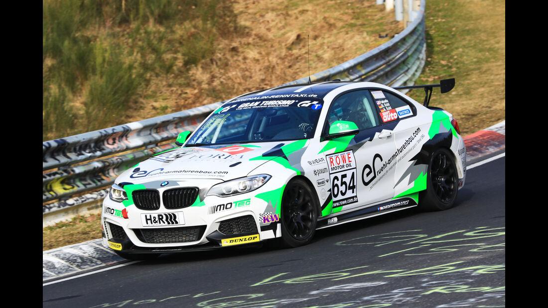 VLN - Nürburgring Nordschleife - Startnummer #654 - BMW M235i Racing Cup - Pixum Team Adrenalin Motorsport - CUP5
