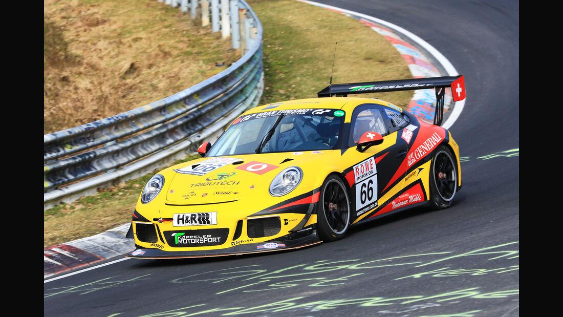 VLN - Nürburgring Nordschleife - Startnummer #66 - Porsche 911 GT3 Cup (991) - SP7