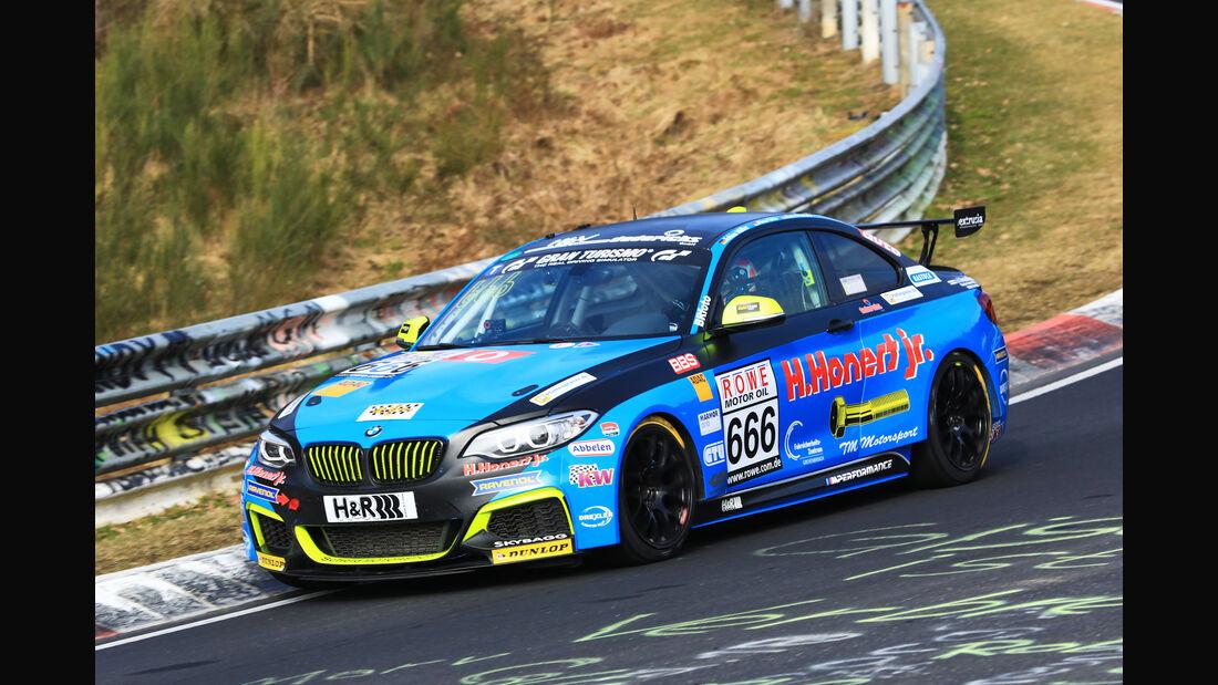 VLN - Nürburgring Nordschleife - Startnummer #666 - BMW M235i Racing Cup - ADAC Nordrhein e,V - CUP5