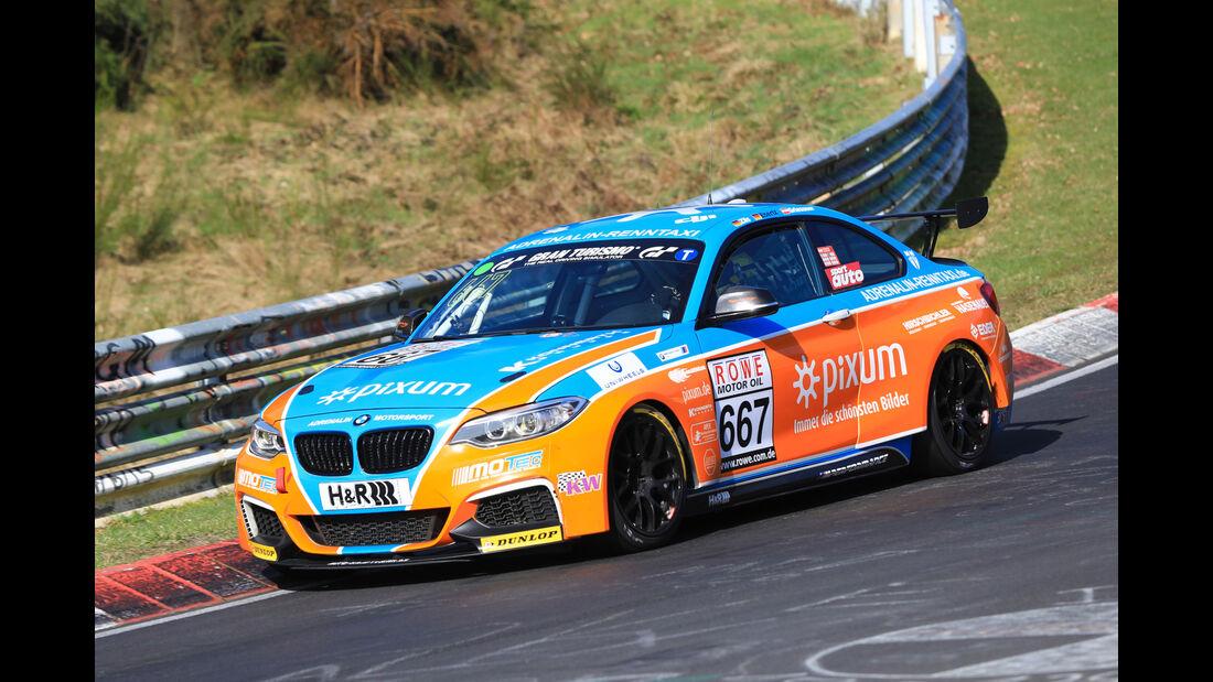 VLN - Nürburgring Nordschleife - Startnummer #667 - BMW M235i Racing Cup - Pixum Team Adrenalin Motorsport - CUP5
