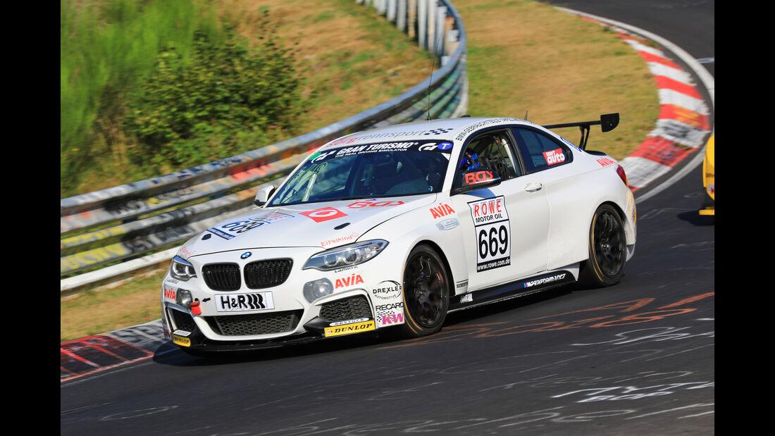 VLN - Nürburgring Nordschleife - Startnummer #669 - BMW M235i Racing Cup - CUP5