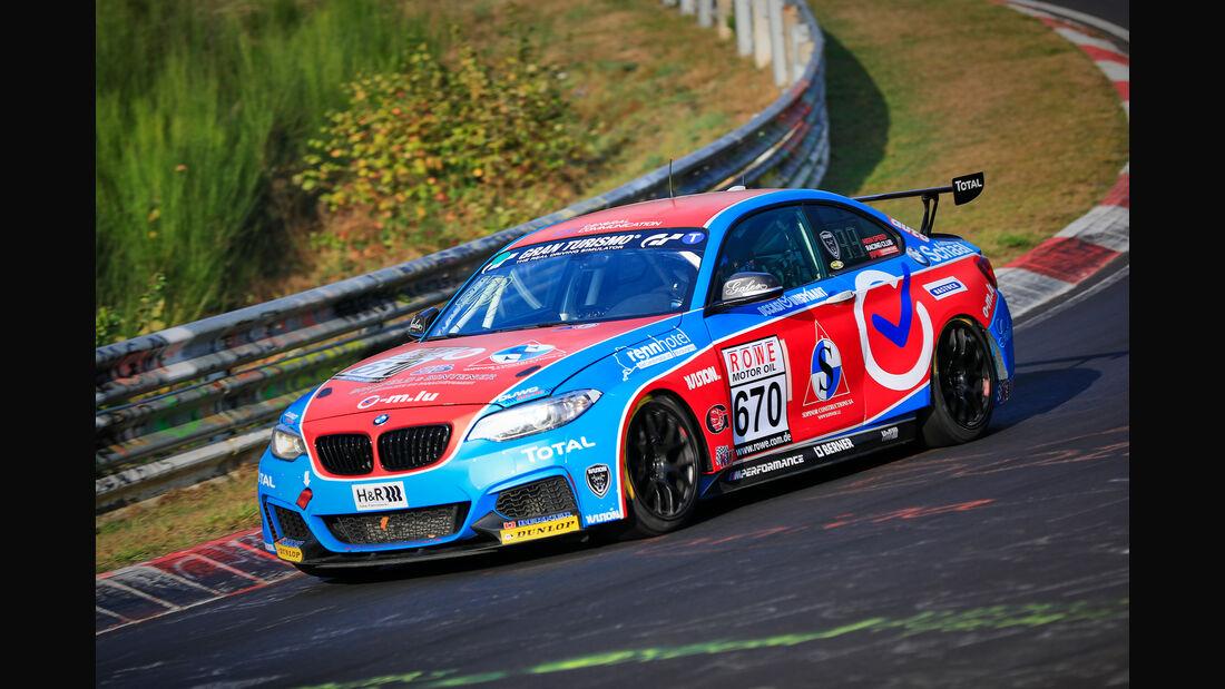 VLN - Nürburgring Nordschleife - Startnummer #670 - BMW M235i Racing Cup - A.L.R - CUP5