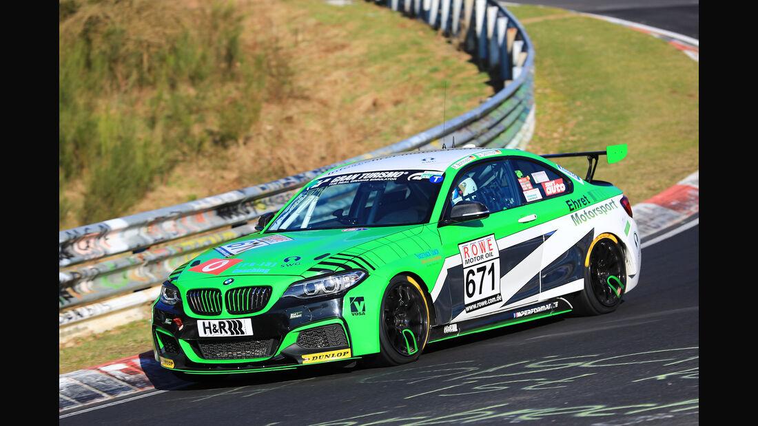 VLN - Nürburgring Nordschleife - Startnummer #671 - BMW M235i Racing Cup - CUP5