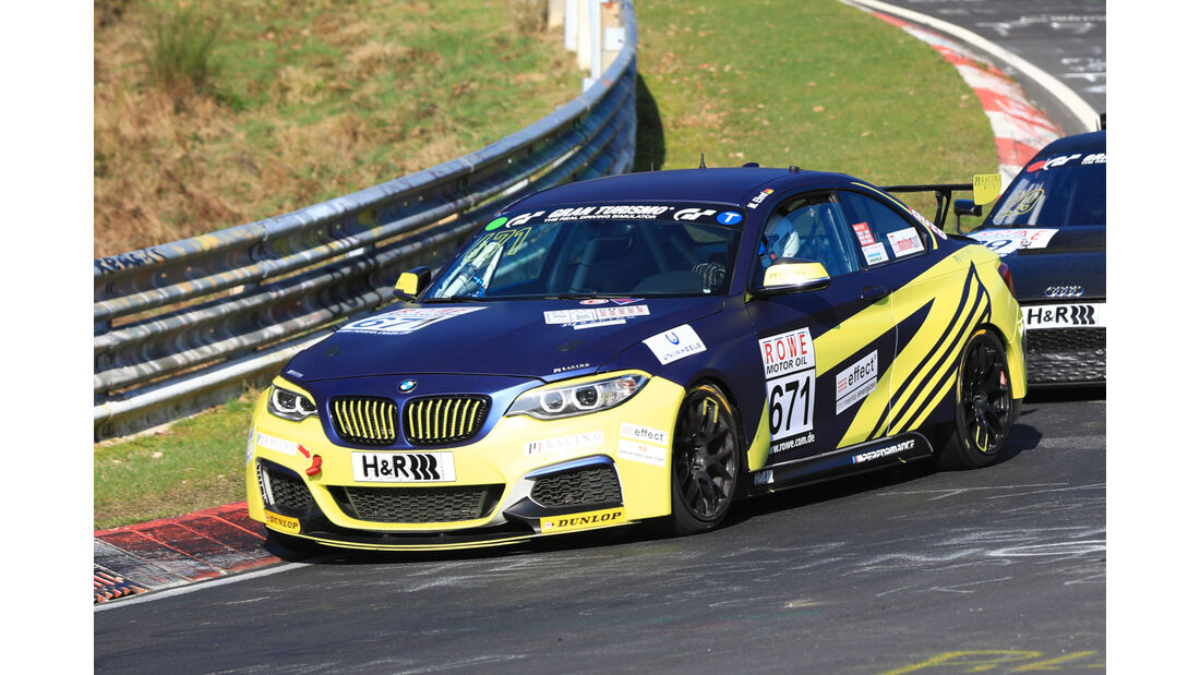 VLN - Nürburgring Nordschleife - Startnummer #671 - BMW M235i Racing Cup - Team P1 Racing - CUP5