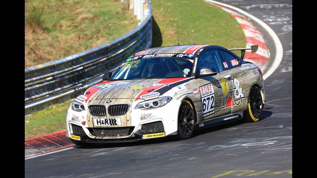 VLN - Nürburgring Nordschleife - Startnummer #672 - BMW M235i Racing Cup - Frikadelli Racing Team - CUP5