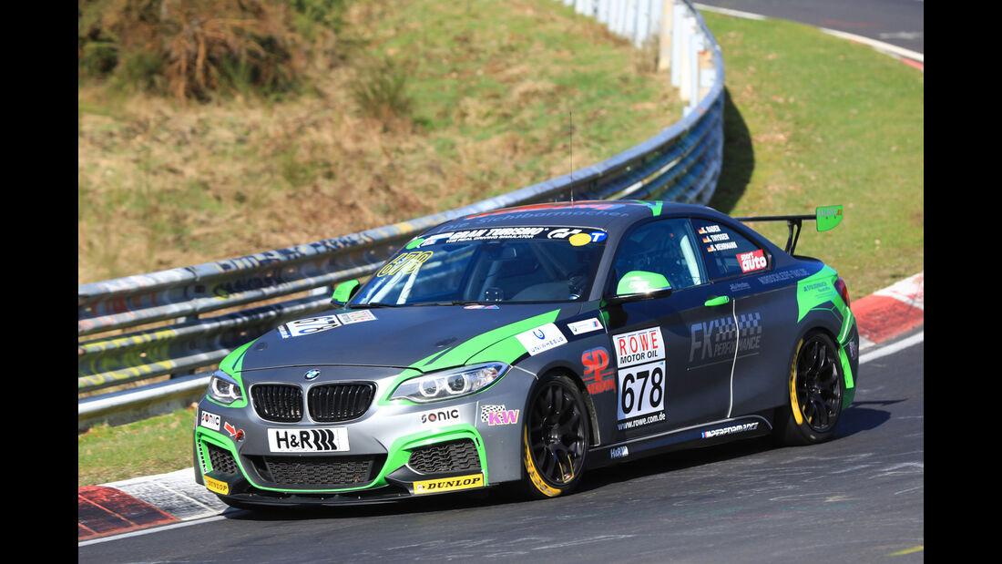 VLN - Nürburgring Nordschleife - Startnummer #678 - BMW M235i Racing Cup - FK Performance Gbr - CUP5