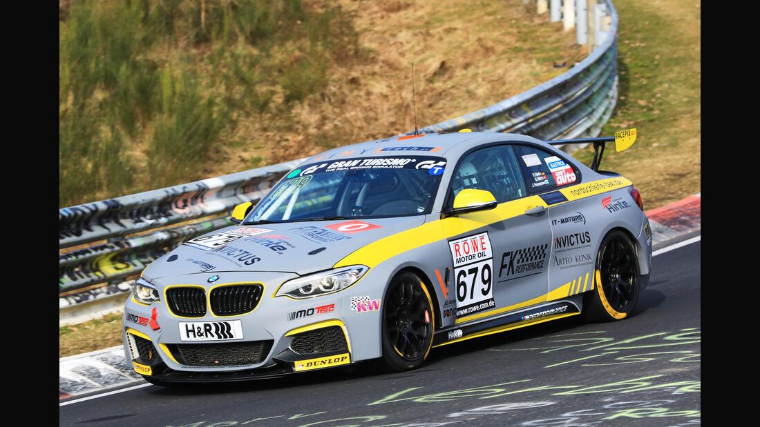 VLN - Nürburgring Nordschleife - Startnummer #679 - BMW M235i Racing Cup - FK Performance Gbr - CUP5